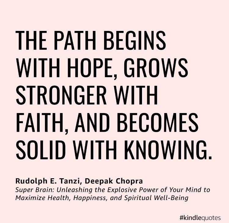 Super Brain quote for faith 5-15-20